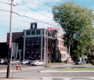 View of GPCCC building from Main Avenue Southbound
