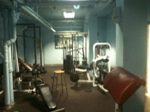 Weight Room - Soon to be upgraded