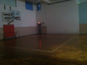 "Current Gym ""B"" Floor"